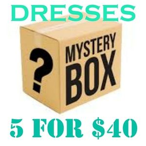 5 for $40 Dresses Mystery Box!